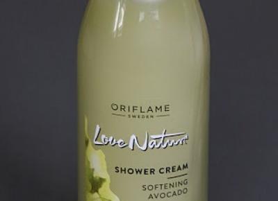 Kosmetyczne inspiracje: Oriflame - Love Nature - Kremowy żel pod prysznic z awokado