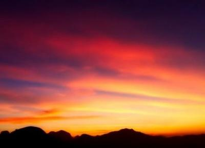 Letni zachód słońca