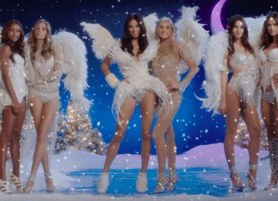 Aniołki Victoria's Secret w świątecznej piosence