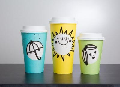 Starbucks zaprojektował wiosenne kubki!