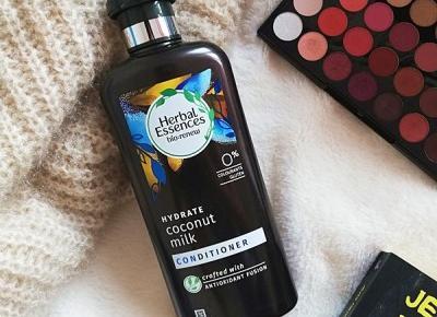Kosmetyki moim życiem: Nawilżająca odżywka do włosów Mleko Kokosowe, Herbal Essences