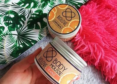 Kosmetyki moim życiem: Pomarańczowy mus do ciała, Biolove