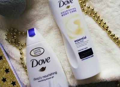 Kosmetyki moim życiem: Żel pod prysznic i balsam do ciała, Dove Nutrishing