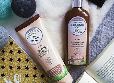 Kosmetyki moim życiem: Żel pod prysznic i balsam do ciała Coconut Oil, GlySkinCare