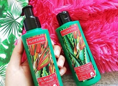 Kosmetyki moim życiem: Żel do mycia twarzy i Płyn micelarny, Aloesove