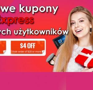 Darmowe kupony od AliExpress dla nowych użytkowników - AliLove.pl
