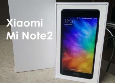 Xiaomi Mi Note2 recenzja - AliLove.pl