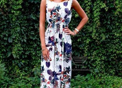 Letnia sukienka ZAFUL z Aliexpress- Aliside.com