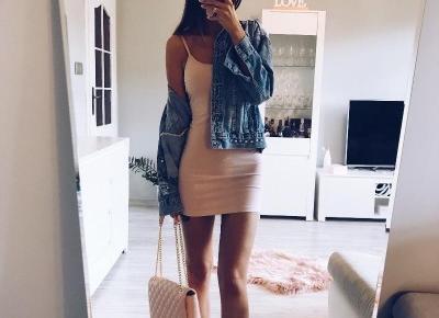 Prosta dopasowana sukienka z Aliexpress- Aliside.com