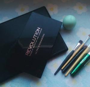 Bordowy makeup look - krok po kroku  - Alleynaa ❤