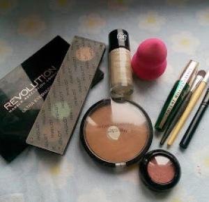 Soft brown and pink make-up look - krok po kroku - Alleynaa ❤