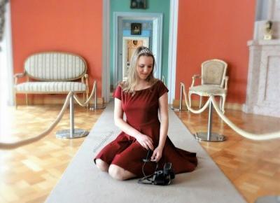 Marysia Chudy: Nie cofajmy się do jaskiń... | Zdjęcia w pałacu