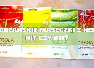 Almost Paradise: HIT czy KIT: Płachtowe maseczki Lomi Lomi z Hebe
