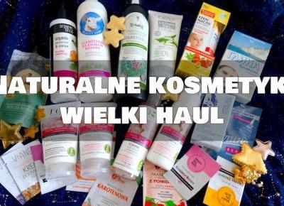 Almost Paradise: Naturalne kosmetyki - super sklep i wielki haul
