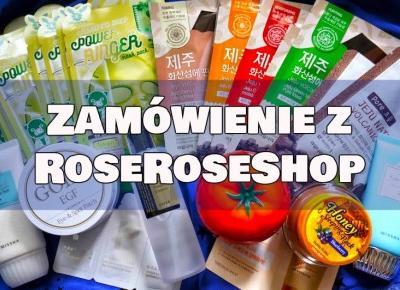 Almost Paradise: Wielkie zamówienie z Roseroseshop - paczka pełna koreańskich kosmetyków