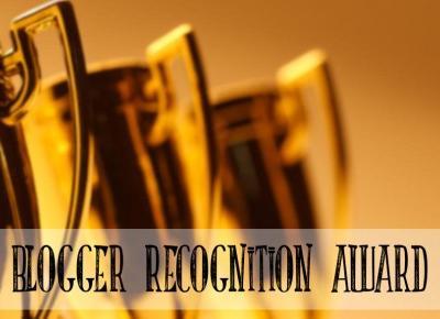 Blogger Recognition Award | Altea Leszczynska