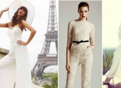Nie lubisz sukienek, a ślub coraz bliżej? Zobacz najnowsze trendy - Lova.pl