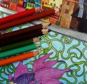 Amiluna ART - Blog o rysowaniu: Recenzja kolorowanki