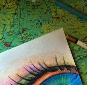 Amiluna ART - Blog o rysowaniu: Recenzja kredek akwarelowych KOH-I-NOOR Mondeluz
