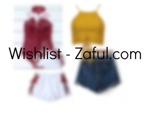 Wishlist - zaful.com - Amelia Świetlik