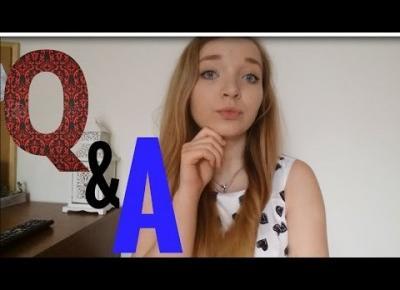 PIERWSZE Q&A! Studia, Różowe włosy