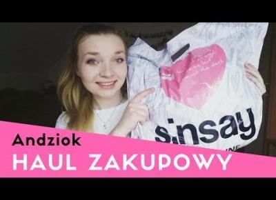 HAUL ZAKUPOWY: SINSAY II Inspiracje na lato 2017