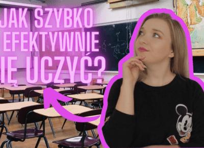 JAK SZYBKO I EFEKTYWNIE SIĘ UCZYĆ? 🎒 BACK TO SCHOOL || daily vlog 3