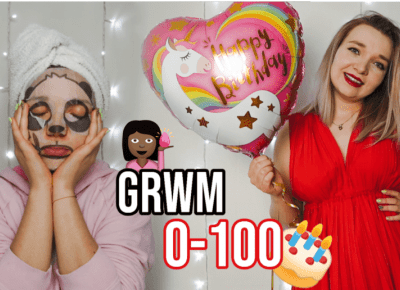 0 to 100 GRWM: MY BIRTHDAY 🎂  DZIŚ SĄ MOJE URODZINY 🎊 full glam makeup, hair and outfit