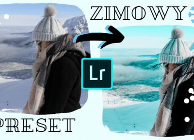 ZIMOWY PRESET | LIGHTROOM MOBILE | WINTER PRESET | FILTR #2