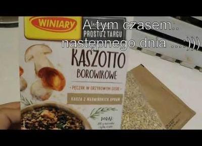 Vlog#25 Kaszotto,zaległa paczka, nocny montaż filmów 📹📹📹