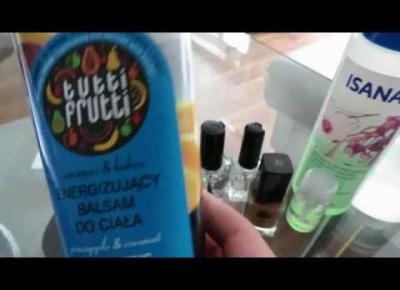 Vlog #26 -sałatka z tuńczykiem, Tutti Frutti,Ziaja i zakupy 👛👛👛