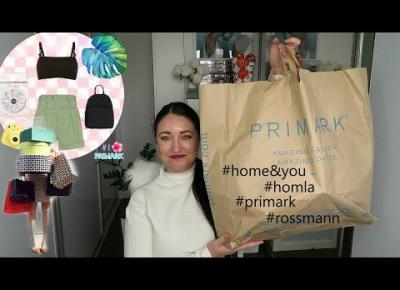 Zakupowy misz masz  😍 Primark, HOMLA,Rossmann, H&M 🛒