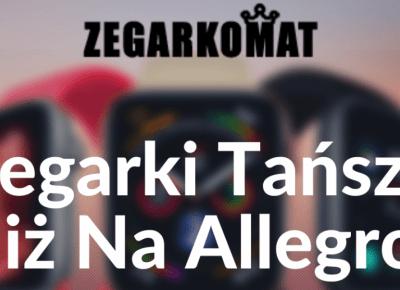Najtańsze zegarki męskie i damskie - Zegarkomat.pl