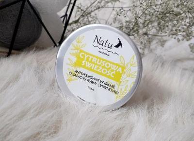 Naturalny dezodorant od Natu Handmate - jak radzi sobie z poceniem i przykrym zapachem?  | A real shopaholic