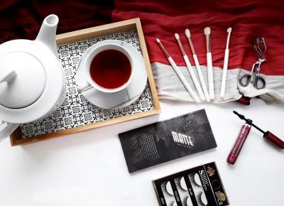 Najlepsza matowa paleta cieni czyli Matte Palette od Zoeva / swatche i makijaż | A real shopaholic
