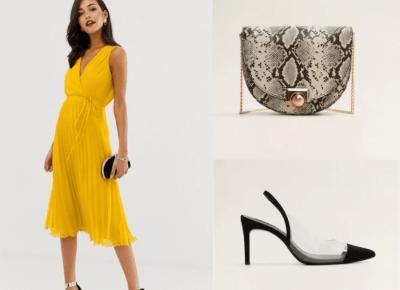 Modne sukienki na wesele - przegląd trenów 2019 i oferty z sieciówek - ZARA, RESERVED, MANGO, ASOS | A real shopaholic