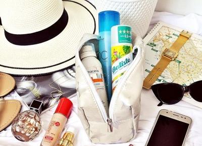 Jakie kosmetyki zabrać ze sobą na wakacje? 9 kosmetyków bez których nie wyjeżdżam na urlop | A real shopaholic