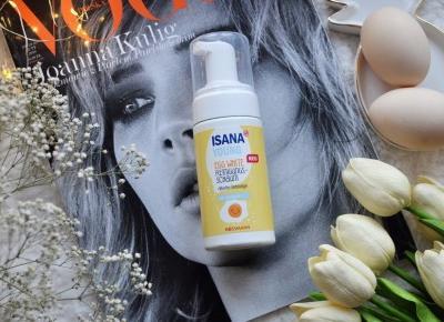 Isana Young, Egg White z Rossmann - czy to najlepsza pianka do mycia twarzy? | A real shopaholic