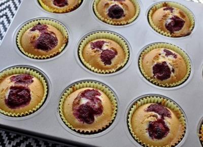 Prosty przepis na pyszne muffiny z malinami - mój pomysł na wykorzystanie sezonowych owoców | A real shopaholic