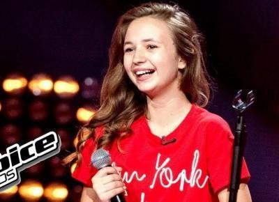 Ania Dąbrowska zwyciężczyni The Voice Kids!