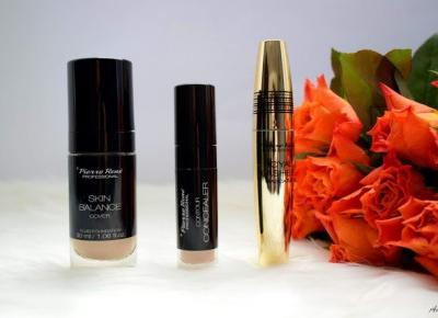 Fluid Skin Balance Cover, korektor pod oczy Contour Concealer, tusz wydłużająco-pogrubiający Royal Lashes Mascara Pierre Rene | Anszpi