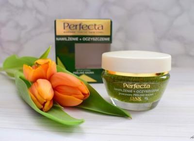 Peeling do twarzy nawilżenie i oczyszczenie Perfecta | Anszpi
