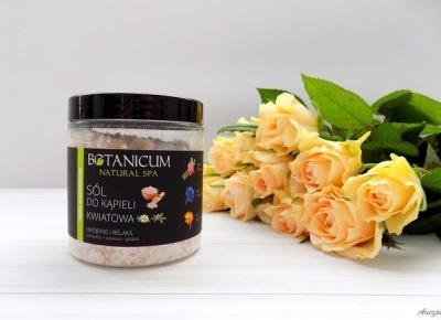 Kwiatowa sól do kąpieli Ukojenie i Relaks Botanicum | Anszpi