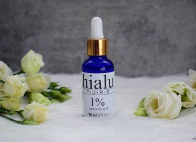 Żelowe serum z kwasem hialuronowym Hialu-Pure 1%  | Anszpi
