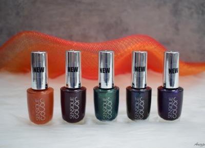 Lakiery do paznokci Sensique Color | Anszpi