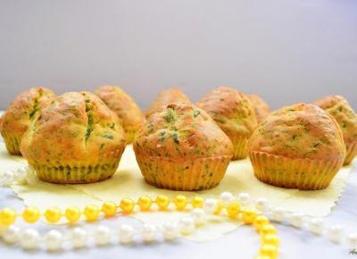 Muffinki ze szpinakiem i serem feta | Anszpi