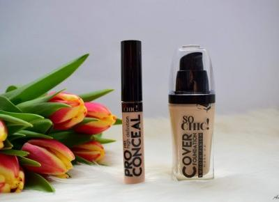 Korektor Pro Concealer HD i podkład Cover Foundation Smooth Finish, So Chic | Anszpi