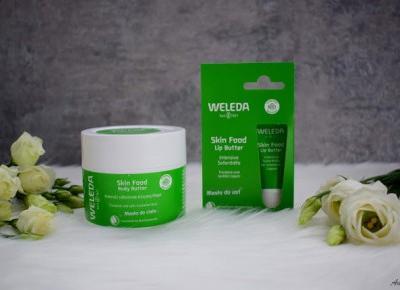 Masło do ust i masło do ciała Skin Food marki Weleda | Anszpi