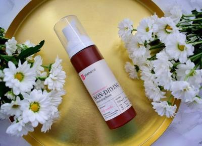 Delikatna pianka do mycia skóry wrażliwej Non-Drying Cleansing Foam Phenome | Anszpi