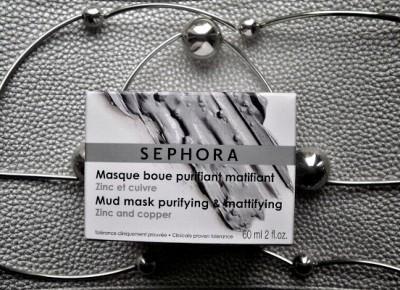 SEPHORA - błotna maseczka oczyszczająca